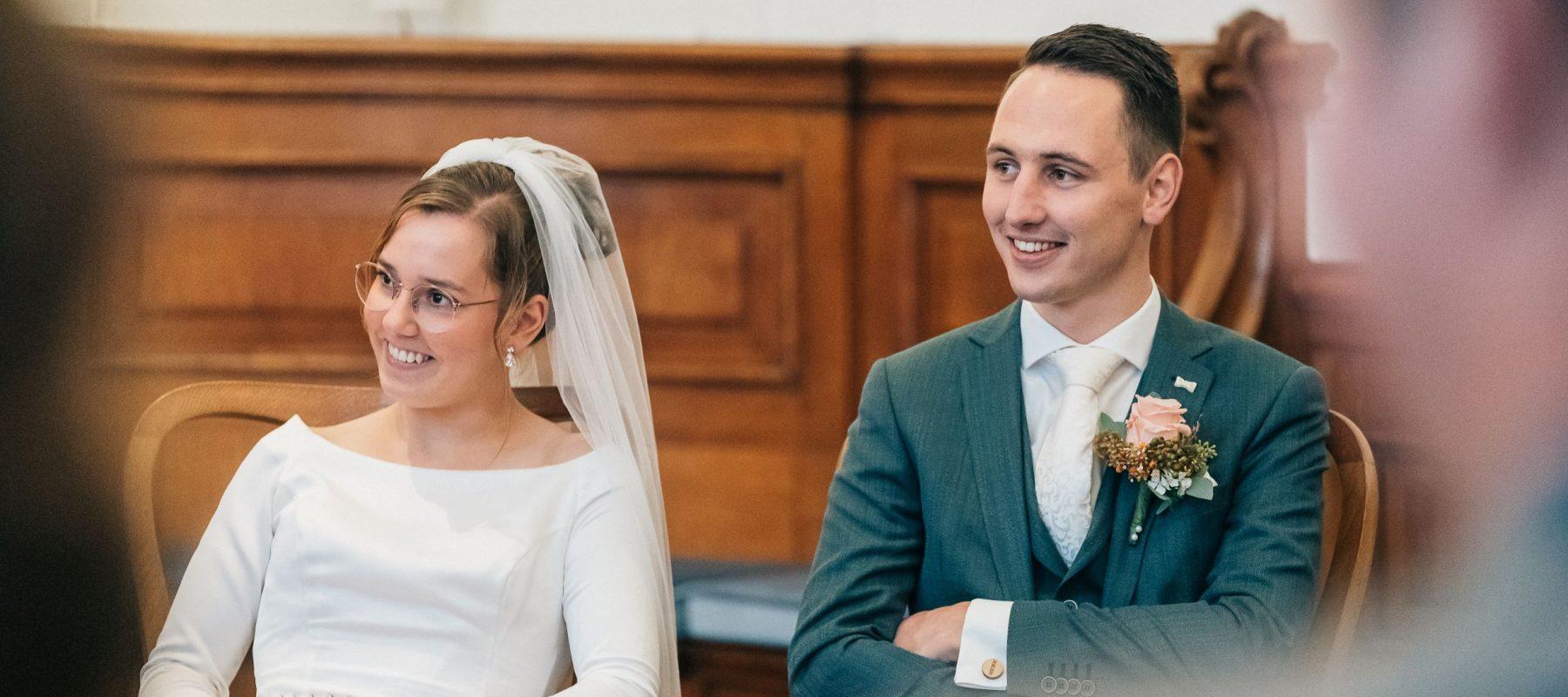 2020-10-28 Alice en Carlo in trouwzaal